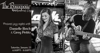Danielle Reich & Greg Petito at The Rouxpour - Memorial City