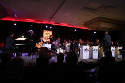 Heavy Juice With Harry Allen & Scott Hamilton, Clayton-hamilton Jazz Orchestra at Newport Beach Jazz Party at Newport Beach Marriott Hotel & Spa