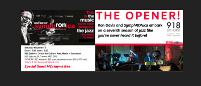 SYMPHRONICA SEASON 7 (2019/20): THE OPENER! at 918 Bathurst Centre For Culture, Arts, Media And Education