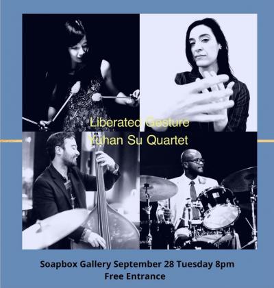 Yuhan Su 'liberated Gesture' at Soapbox Gallery