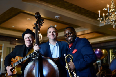 The Vincent Gross Trio at Brennan's Of Houston
