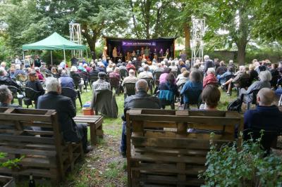 Berliner Szene Jazz - Draußen & Gratis at Jazz Am Kaisersteg at Hasselwerder Park
