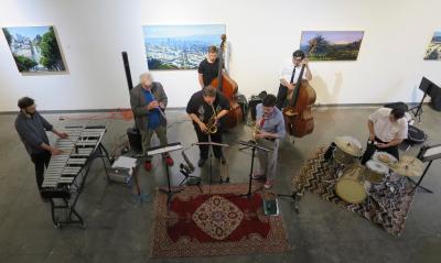 Rent Romus' Life's Blood Ensemble, Brown Slusser Duo at Studio Grand