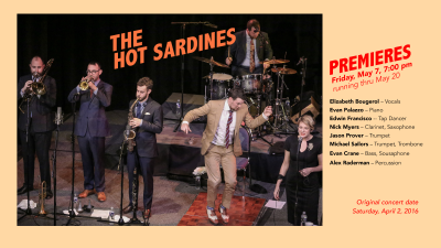 The Hot Sardines at Manchester Craftsmen's Guild