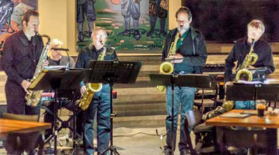 West Michigan Jazz Society Jazz Gumbo With The Beer City Saxes at Casino Club