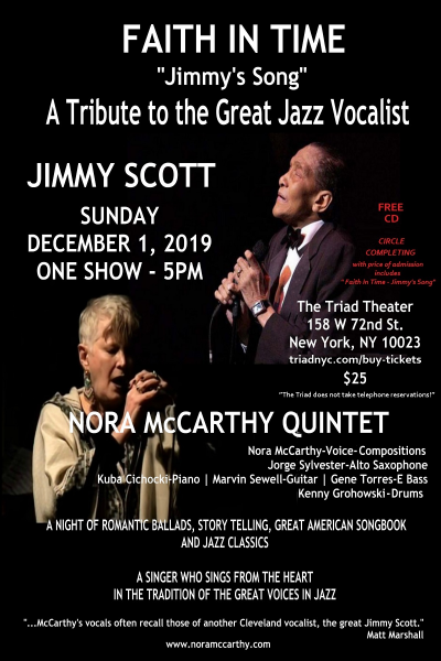 Nora McCarthy Quintet at The Triad Theater