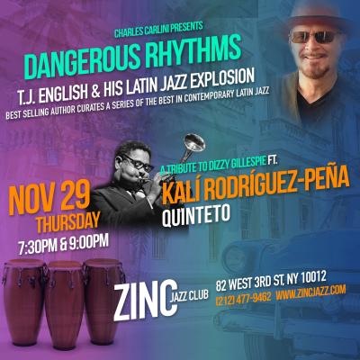 Dangerous Rhythms: A Tribute to Dizzy Gillespie at Zinc Bar