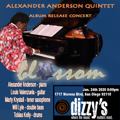 Alexander Anderson Quintet at Dizzy's
