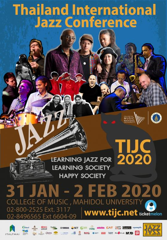 Thailand International Jazz Conference (TIJC) 2020 Musters Most World-Class Jazz Artists In 12 Years