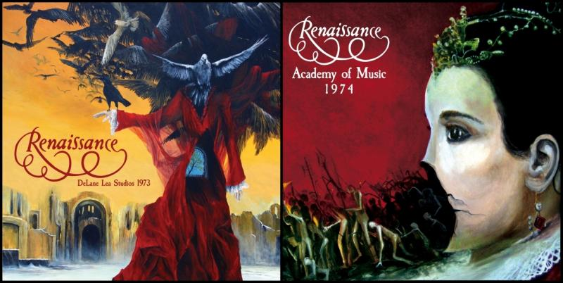 Cleopatra Records To Release Two Rare Live Albums By UK Prog Legends Renaissance