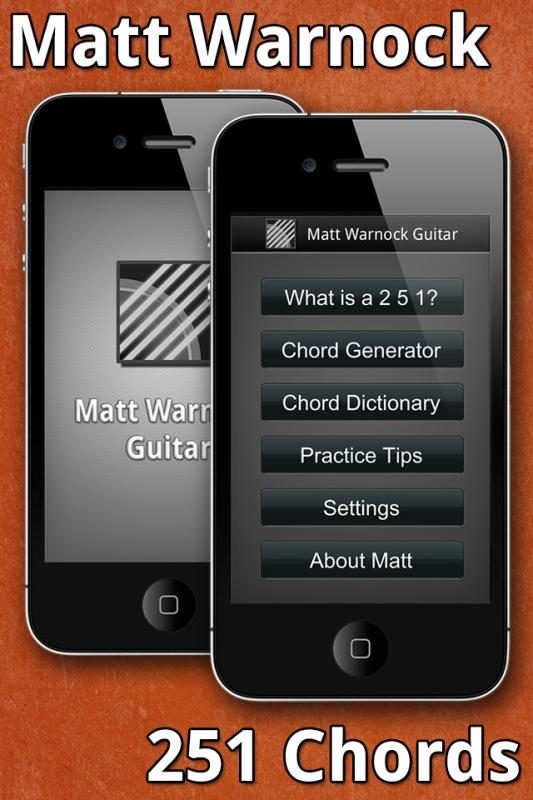 Matt Warnock Launches Jazz Guitar Teaching App For iPhone and iPad