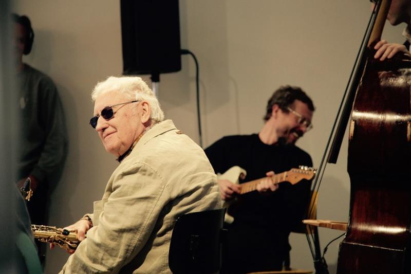 Jakob Bro, Lee Konitz, Bill Frisell and Thomas Morgan at Mengi