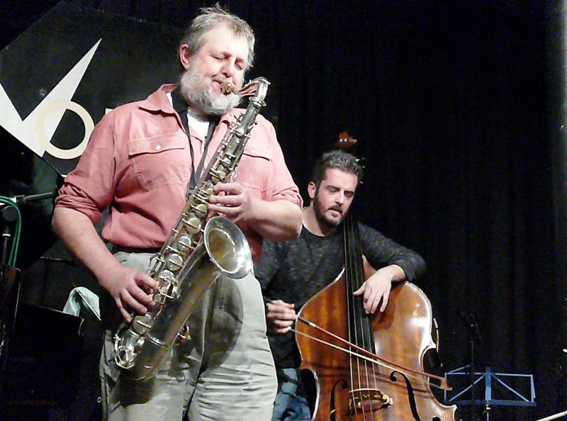 Paul Dunmall Quartet : London, England, January 9, 2012