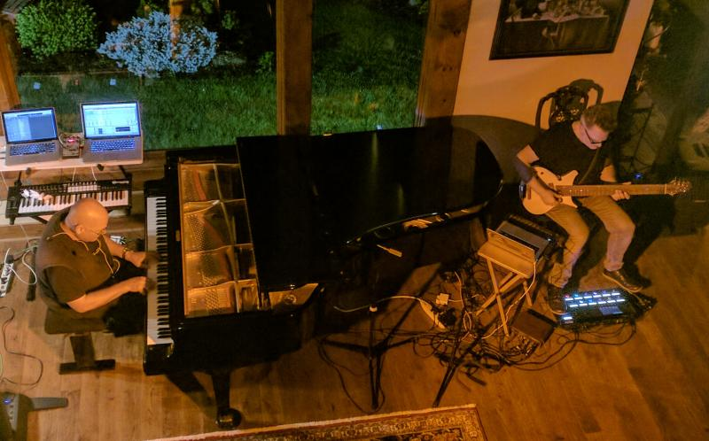 Robert Rich & Markus Reuter at Streamside Concerts