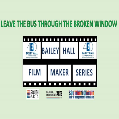 Leave The Bus Through The Broken Window at Bailey Hall At Broward College