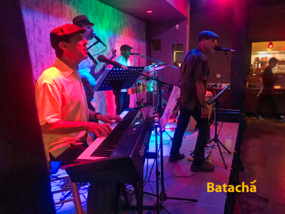 Batachá Quartet at Healdsburg Jazz Festival at Hotel Healdsburg Jazz In The Lobby
