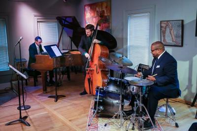 Jazz @the Point W/ The Sean Dobbins Trio + wine tasting & dessert at The Tipping Point Theatre