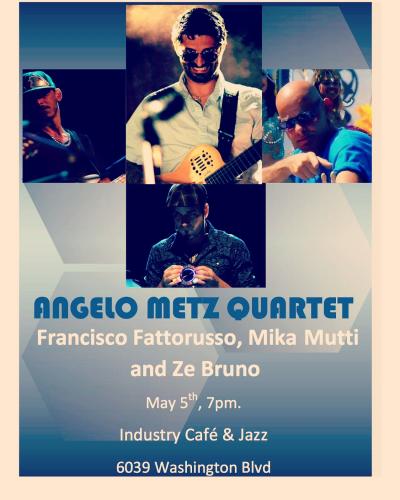 Angelo Metz Quartet at Industry Jazz & Cafe
