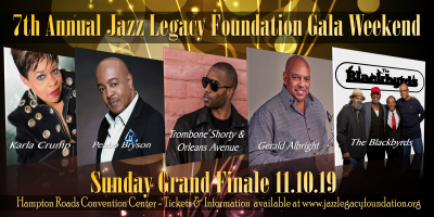 Trombone Shorty And Orleans Avenue - Peabo Bryson-gerald Albright-the Blackbyrds-karla Crump at Jazz Legacy Foundation Gala Weekend (jazz Fest) at Hampton Roads Convention Center