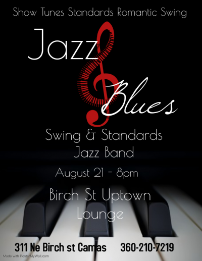 Swing & Standards Jazz Band at The Birch Street Uptown Lounge
