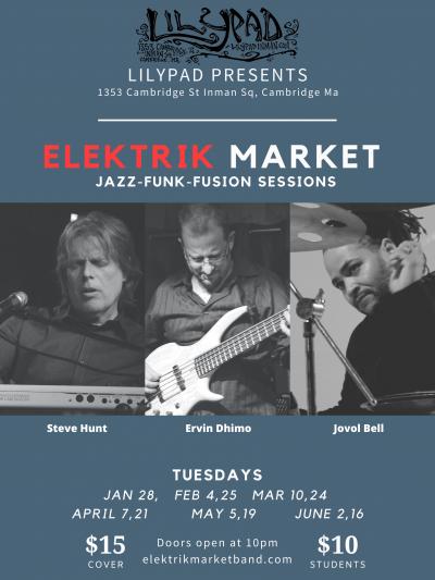 Elektrik Market at Lilypad