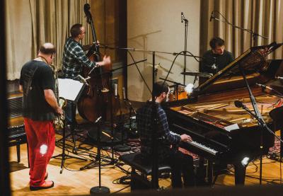 Christof Griese Quartett – …improvisation Und Lyrik Zum 50 Todestag Von Albert Ayler. at Industriesalon Schöneweide
