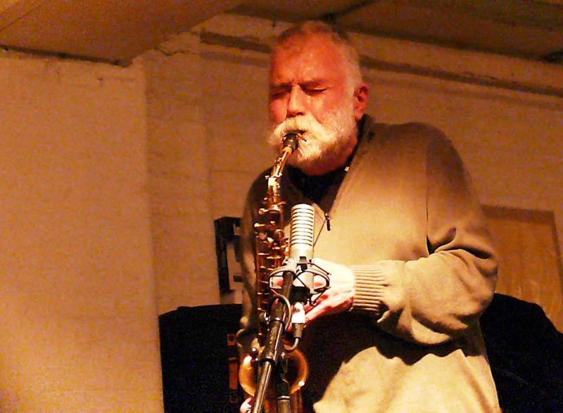 Peter Brotzmann Ada Trio: London, UK, February 20, 2012