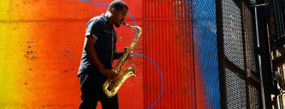 Jazz Poetry Month: James Brandon Lewis at City Of Asylum's Jazz Poetry Month at City Of Asylum @ Alphabet City