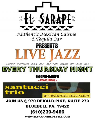 Santucci Trio at El Sarape