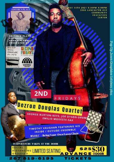 Dezron Douglas Quartet at Community Education Center