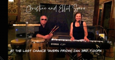 Christine And Elliot Spero at The Last Chance Tavern
