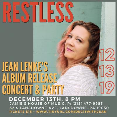 Jean Lenke ~ Album Release Concert & Reception at Jamey's House Of Music