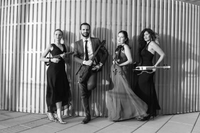 The Elegance String Quartet at Community Concert Series At Awbury at Awbury Arboretum
