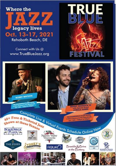 Jawanza Kobie Band  at True Blue Jazz Festival at Lefty's Alley & Eats