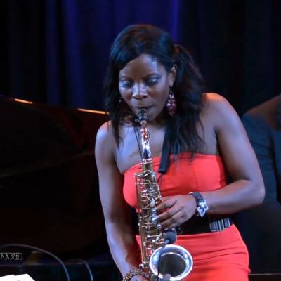 Tia Fuller at Summer Jazz Cafe at Two River Theater
