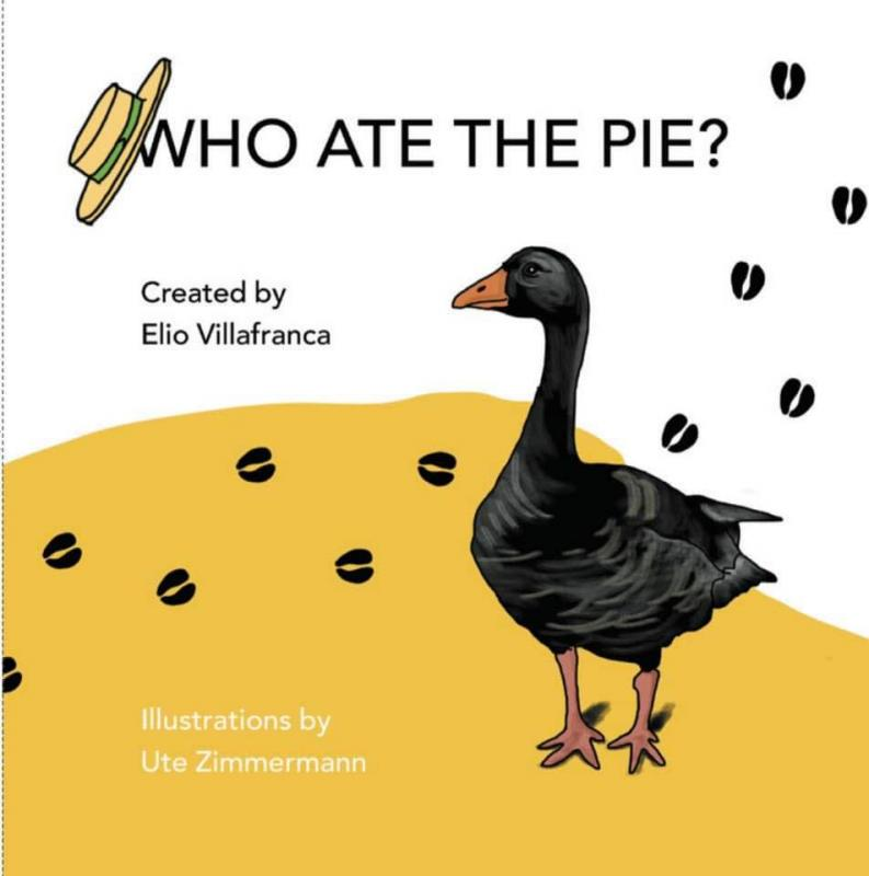 Cuban Pianist Elio Villafranca New Children's Book: Who Ate The Pie?