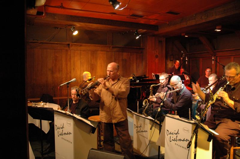 Dave Liebman Big Band At Chris' Jazz Café