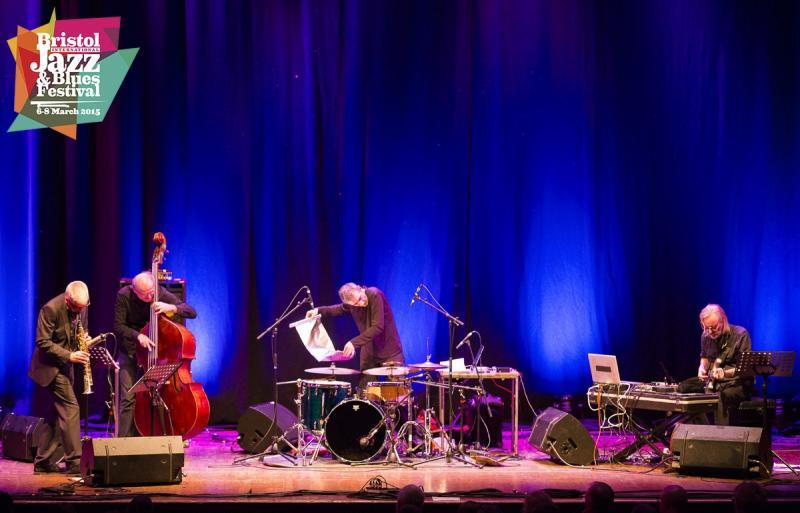 Andy Sheppard Quartet at Bristol Jazz & Blues Festival 2015