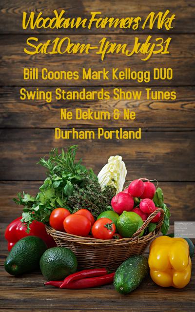 Mark Kellogg Bill Coones Woodlawn Market at Woodlawn Farmers Market