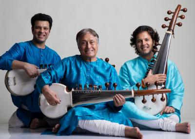 Amjad Ali Khan: Sarod Trilogy at University of Massachusetts Fine Arts Center Concert Hall