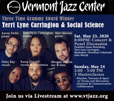 Terri Lyne Carrington And Social Science at Vermont Jazz Center