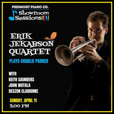 Erik Jekabson Quartet Plays The Music Of Charlie Parker at Piedmont Piano Company