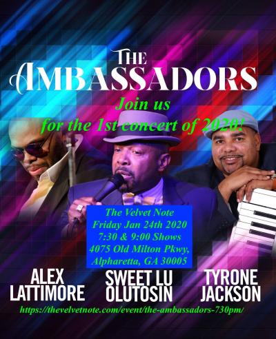 The Ambassadors Live @ The Velvet Note at The Velvet Note