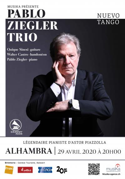 Pablo Ziegler Trio at Alhambra