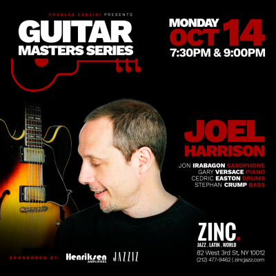 Guitar Masters Series: Joel Harrison at Zinc Bar