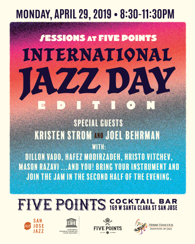 Session @ Five Points: International Jazz Day Edition at Five Points