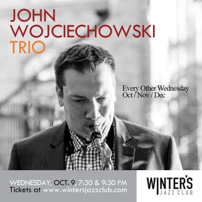 John Wojciechowski Trio at Winter's Jazz Club