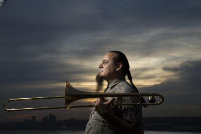 Steve Turre Quintet at Bach Dancing & Dynamite Society at the Douglas Beach House