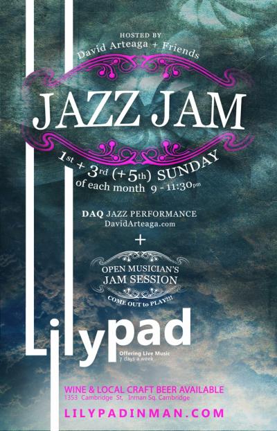 Lilypad Sunday-nite Jazzzzz Jam at Lilypad