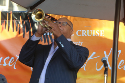 Byron Stripling-bobby Floyd Quartet With Joe La Barbera & Bruce Forman at Sunset Jazz At Newport Summer Series at Newport Beach Marriott Hotel & Spa